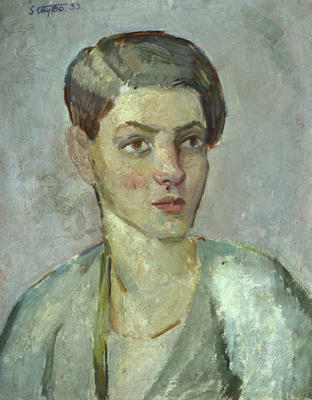 Portrait of Joan Burbury