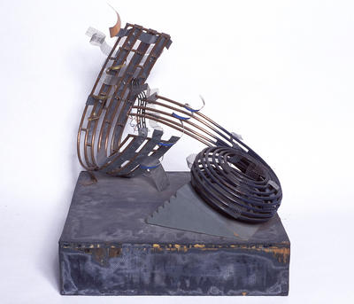 Maquette for Basket and Wave (From Dreams and Nightmares. Journey of a Broken Weave)