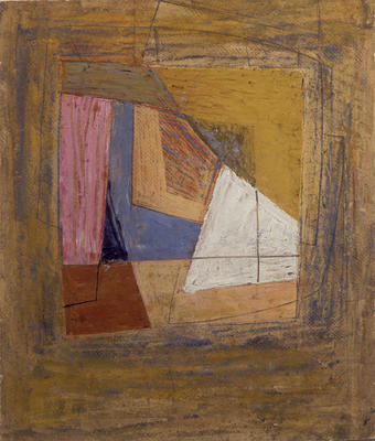 Untitled (Cubist Abstract)