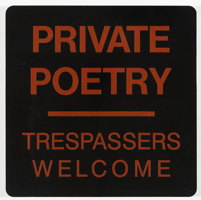 Private Poetry