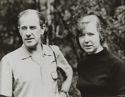 Sidney Nolan and Barbara Tucker