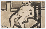 Untitled (Seated Figure)